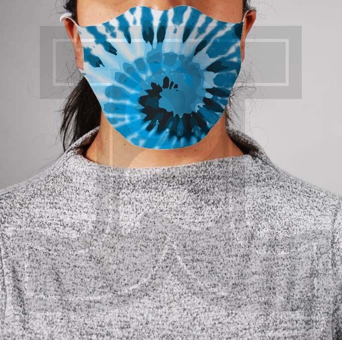 *PRE-ORDER* Premium Cloth Mask with Built-In Filter - Tie Dye 3