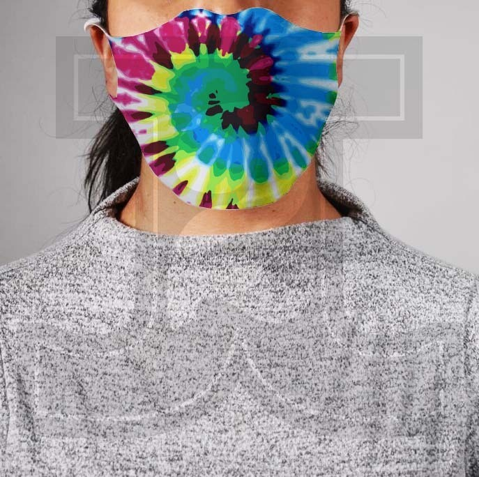 *PRE-ORDER* Premium Cloth Mask with Built-In Filter - Tie Dye 2