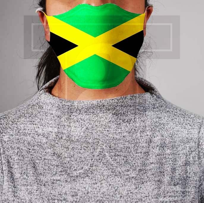 *PRE-ORDER* Premium Cloth Mask with Built-In Filter - Jamaican Flag