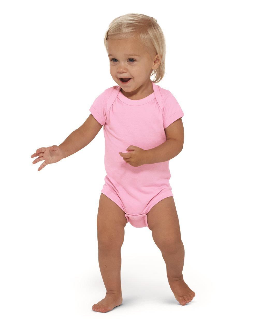 Infant Fine Jersey Body Suit - (STYLE#STLT004424)