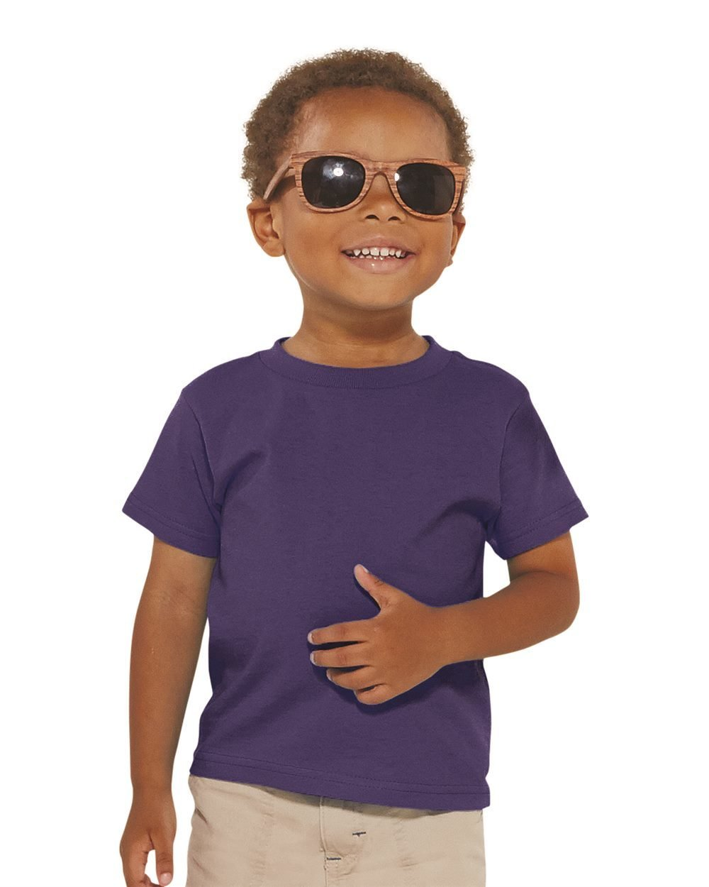 Toddler Cotton Jersy Tee - (STYLE#STLT003301)