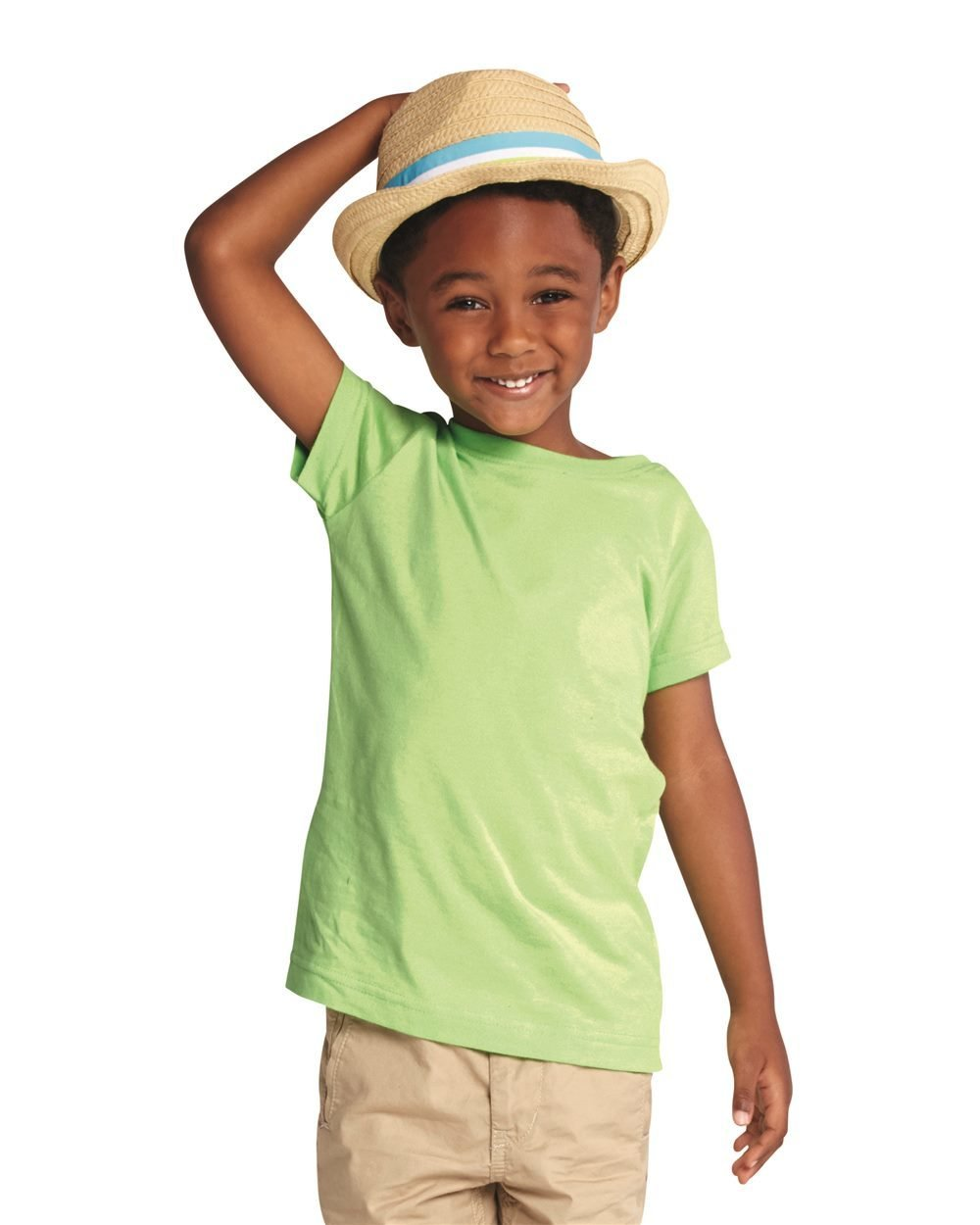 Toddler Fine Jersy Tee (Extended Sizes) - (STYLE#STLT003321)