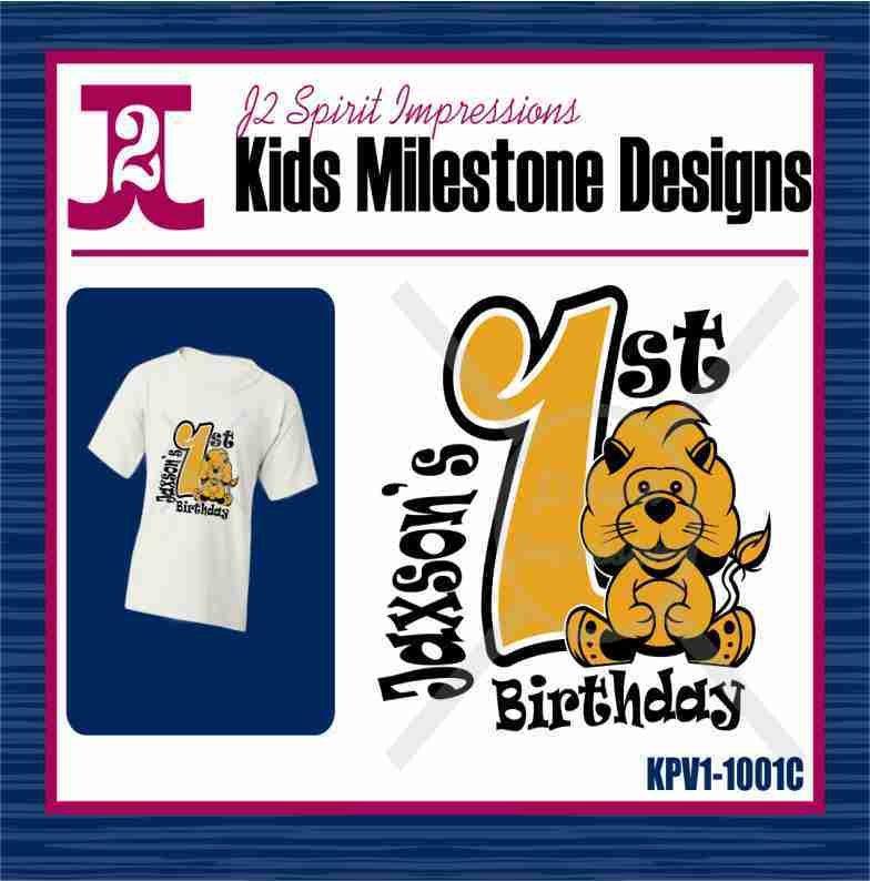 Kid's 1st - Birthday