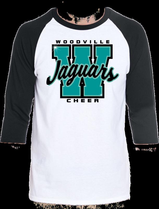 Woodville Jaguars Spirit Tee - Varsity Letter