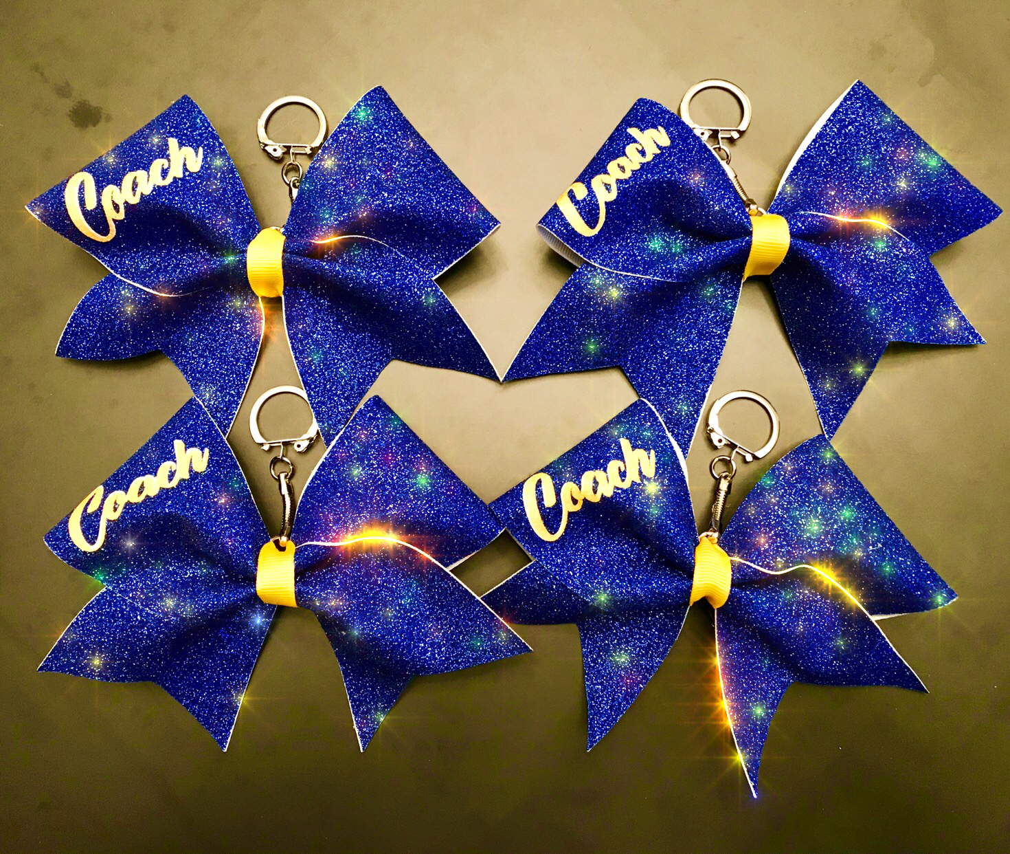 Cheer Bow Keychain