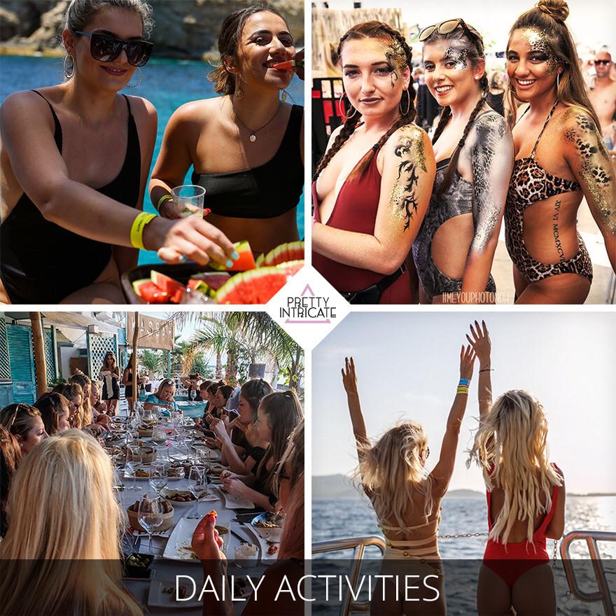 Hannah Barons' Ibiza Hen Itinerary