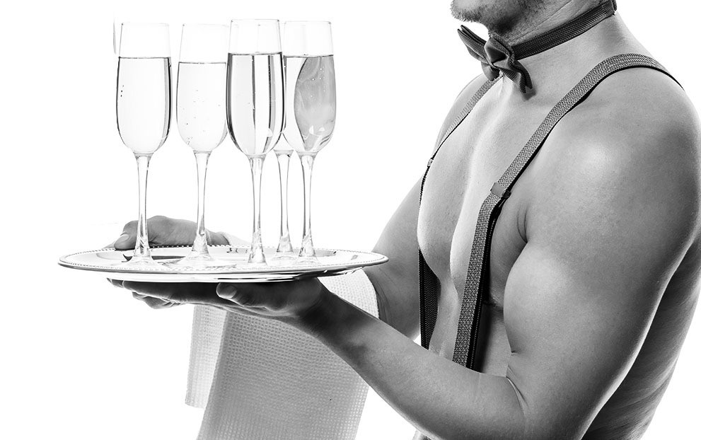 Champagne reception & VIP Open bar table package