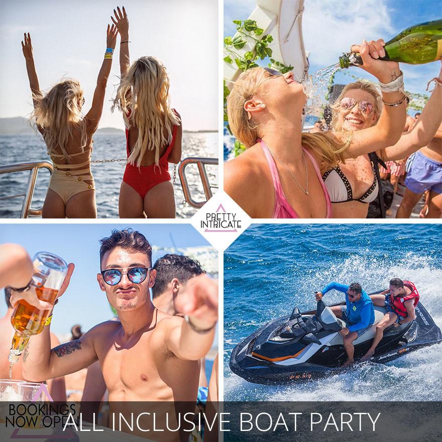 All Inclusive Ibiza Boat Party
