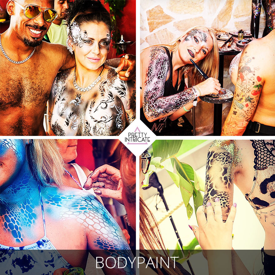 The Zoo Project Ibiza body painting