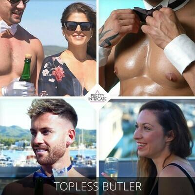 Cheeky Ibiza butler