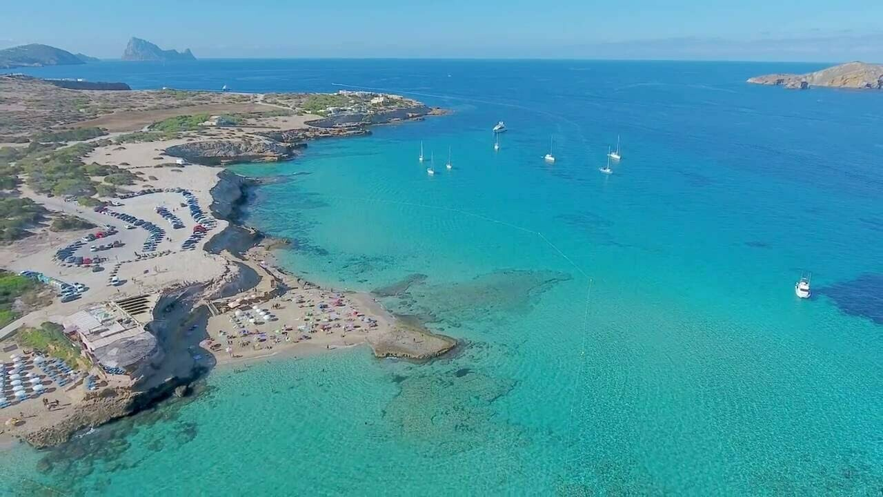 Ibiza beach hopping tour
