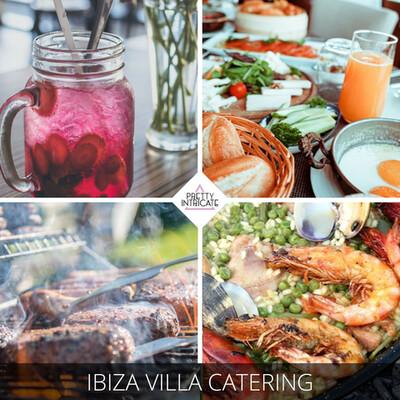 Ibiza Villa Catering