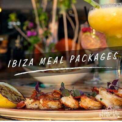 Ibiza Meal Packages - Tell us your group name, size & dates for your own customized page...