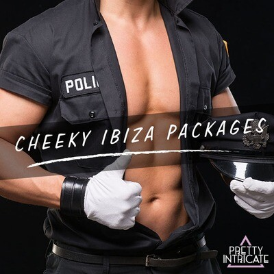 Ibiza Male Strip Show Packages - Tell us your group name, size & dates for your own customized page...