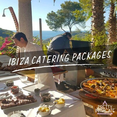 Ibiza Catering Packages - Tell us your group name, size & dates for your own customized page...