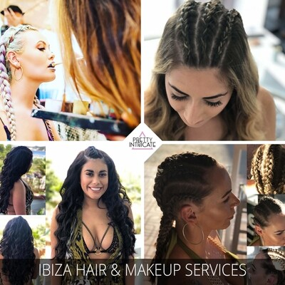 Ibiza Pre - party Makeover with champagne