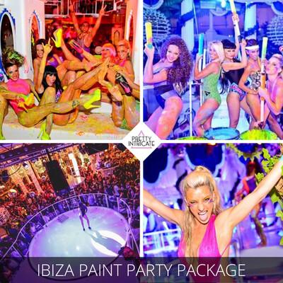 Es paradise paint party package