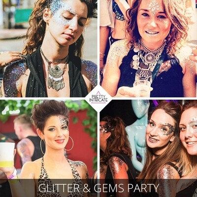 Open bar glitter party & Superclub package