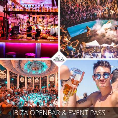 Open bar event pass