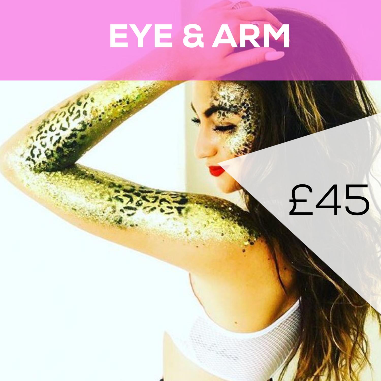 Half Face & Arm - £45
