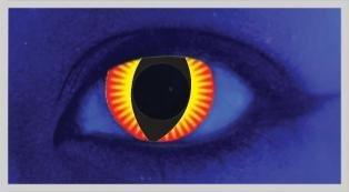 UV Slit Eye Fire - From £19.99