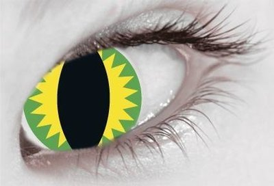 Yellow & Green Slit Eye Sea Monster - From £19.99