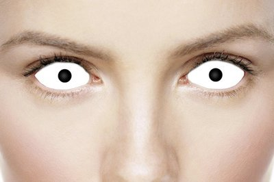 White Scelera Full Eye Contacts