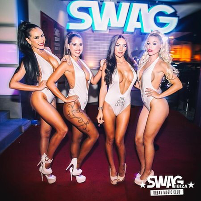 Open bar & Swag package £49