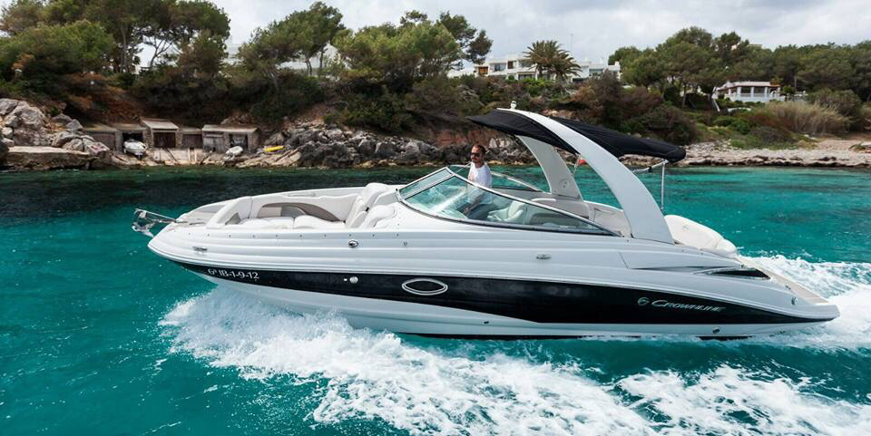 Private Ibiza boat charter (9 + skipper)
