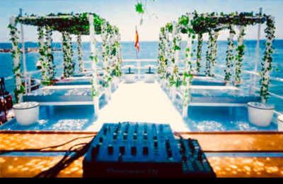 All inclusive VIP boat party package