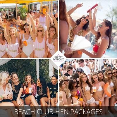 Beach Club Hen Packages