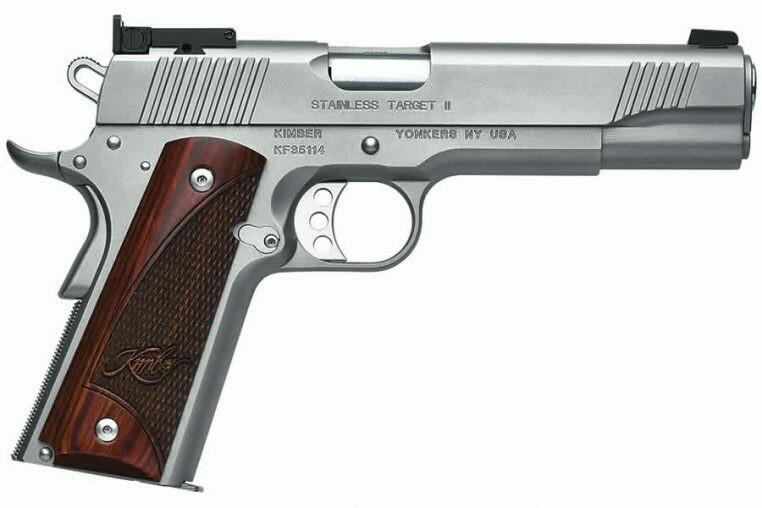 Stainless Target II 45 ACP - KIMBER