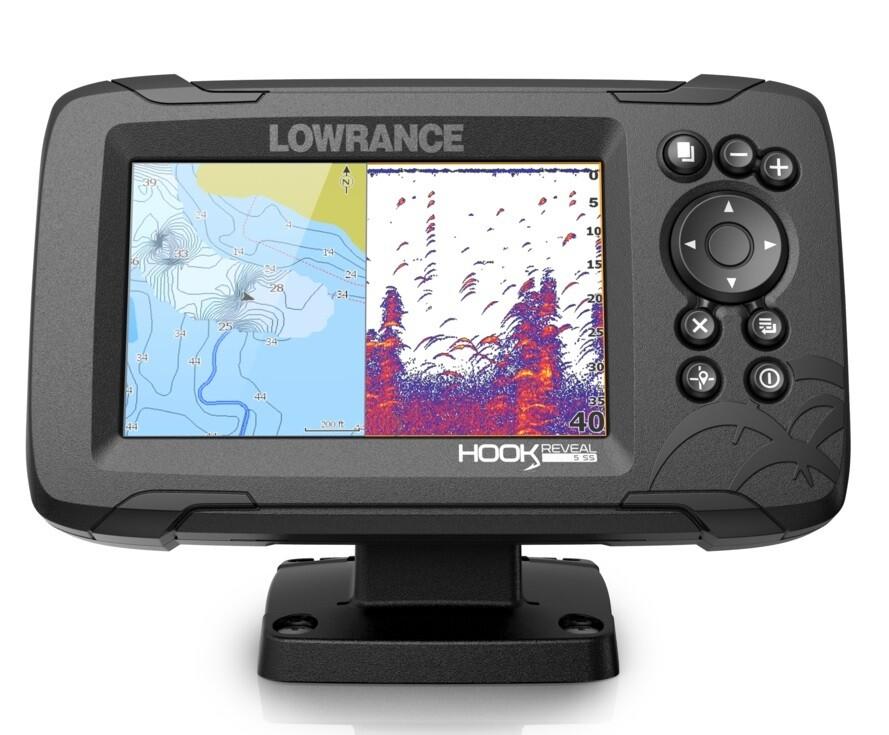 Lowrance - Hook Reveal 5 GPS/eco display 5