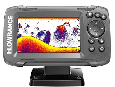 Lowrance - Hook2 4x GPS/eco 200khz - CON TRASDUTTORE