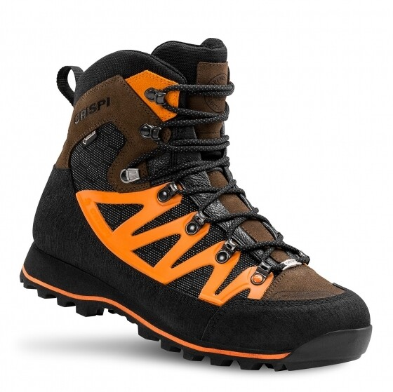 Scarponi Ascent Evo GTX Brown Orange - CRISPI