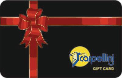 Scarpellini Gift card