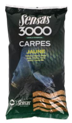 3000 CARPES JAUNE - Sensas