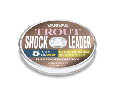 Trout Shock Leader Fluorocarbon 100% - VARIVAS