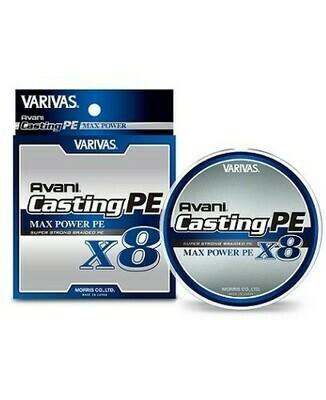 Treccia Avani Casting Max Power PE X8 300 Mt - VARIVAS