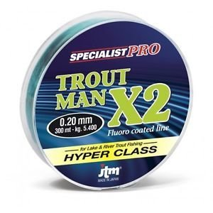 Filo Trout Man X2 300 MT -  JTM