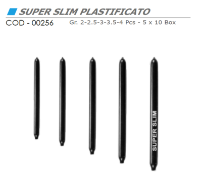 Piombo SUPER SLIM PLASTIFICATO - VINCENT