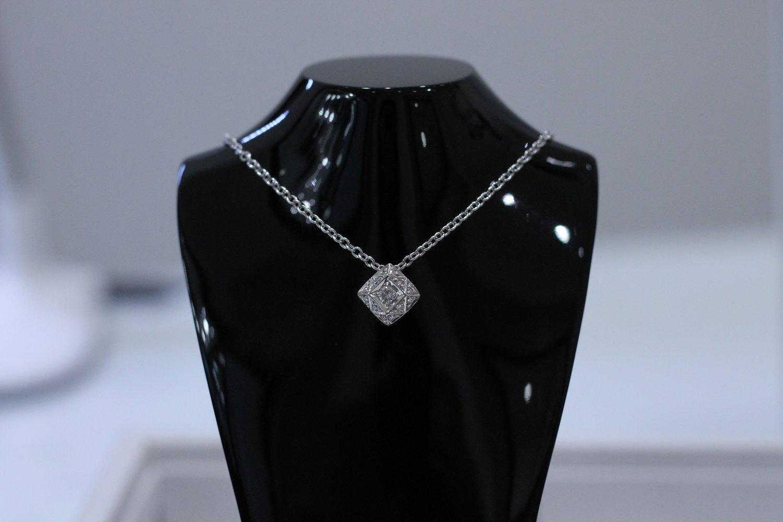 Asprey 18ct White Gold and Diamond Necklace