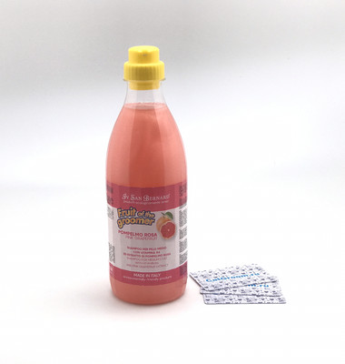 ISB Fruit of the Groomer Pink Grapefruit Шампунь для шерсти средней длины с витаминами 1 л