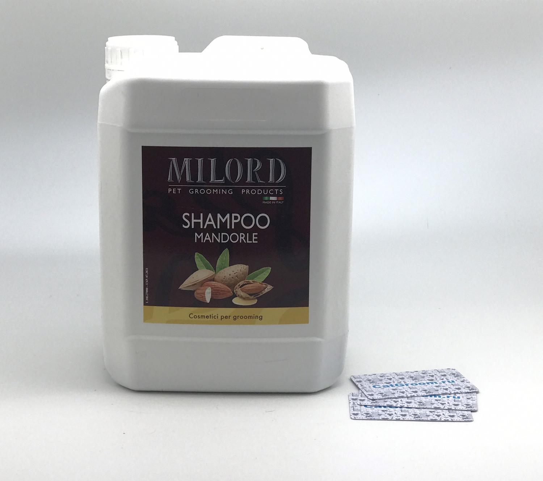 Milord Shampo Mandorle Шампунь для кошек и собак - 5000 ml
