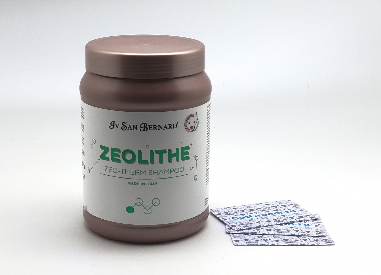 ISB Zeolithe Шампунь для поврежденной кожи и шерсти Zeo Therm Shampoo без лаурилсульфата натрия 1 л