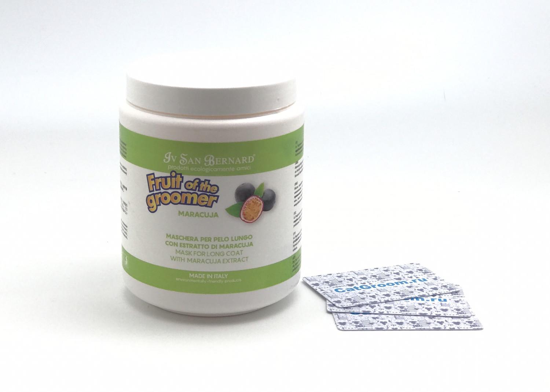 ISB Fruit of the Groomer Maracuja Восстанавливающая маска для длинной шерсти с протеинами 1 л