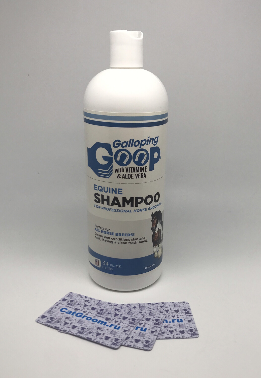#714 Galloping Goop Equine Shampoo 34 oz. Squeeze Bottle