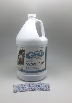 #705 Galloping Goop Equine Conditioner Gallon with Pump