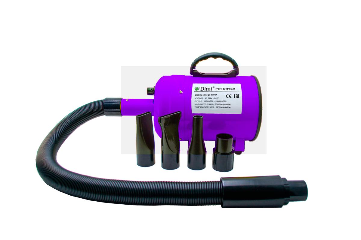 Фен-компрессор  DIMI, LT-1090P/Р фиолетовый