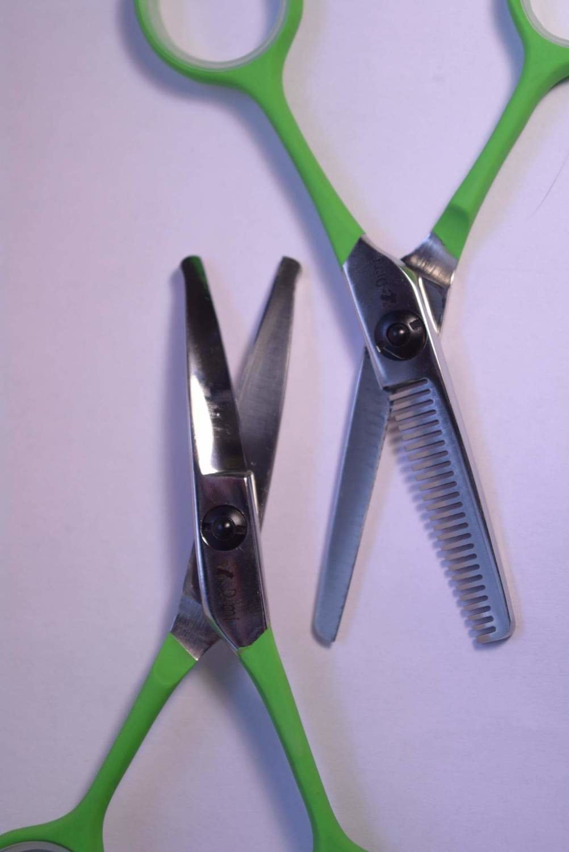 Комплект ножниц DIMI изогнутые+филлировочные